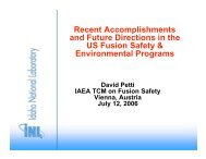Petti IAEA - Nuclear Sciences and Applications - IAEA
