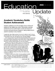Academic Vocabulary Builds Student Achievement - Kewaskum ...