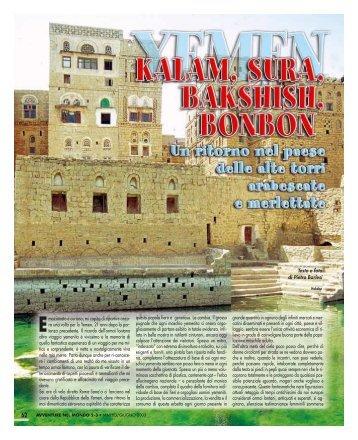 YEMEN - Kalam, Sura, Bakshish, Bonbon - Viaggi Avventure nel ...