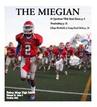 Year - Bishop Miege High School