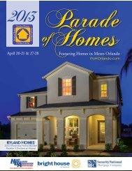 Download the Guide here - Parade of Homes