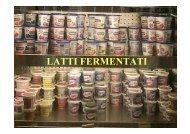 latti fermentati - Centri di Ricerca - Università Cattolica del Sacro ...