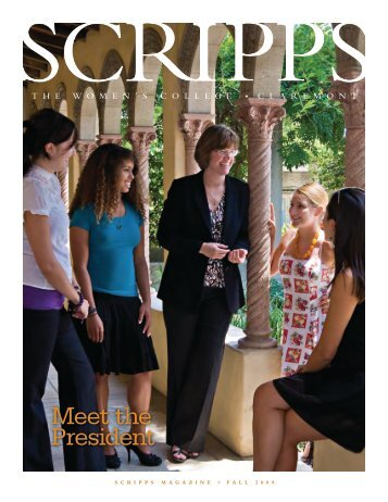 Meet the President - Scripps Magazine - Scripps College