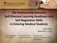 The Relationship Between Self-Directed Learning Readiness and ...