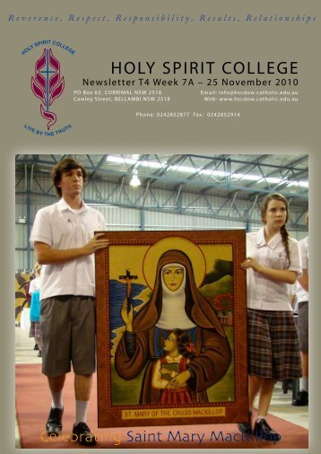 2. - Holy Spirit College