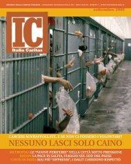 NESSUNO LASCI SOLO CAINO - Caritas Italiana