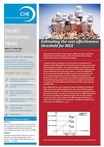 CHE News May 2013 (PDF , 1237kb) - University of York