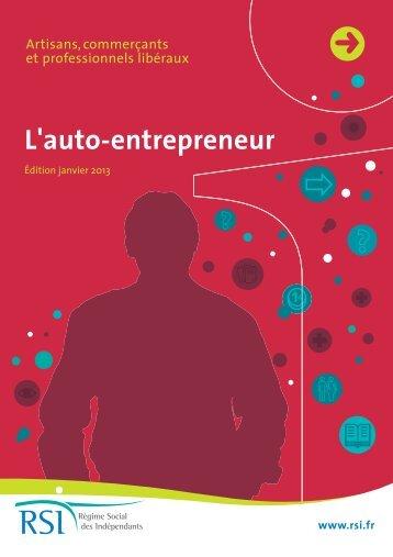 Guide de l'auto-entrepreneur - RSI