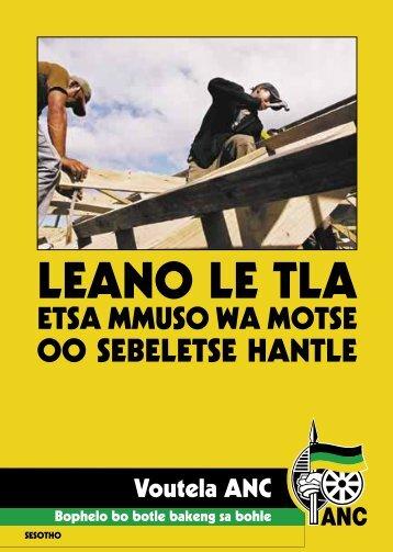 Manifesto Sesotho
