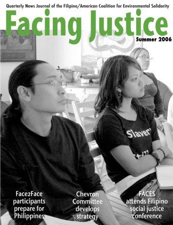 Facing Justice - Filipino American Coalition for Environmental ...