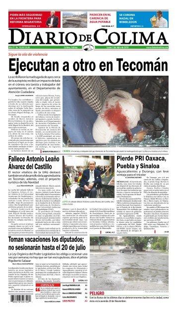 Fallece Antonio Leaño Álvarez del Castillo Toman vacaciones los ...