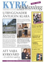 Kyrkhälsning 2004 nr 1 - Svedala församling
