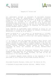 A AGRICULTURA, DO DESENVOLVIMENTO RURAL E DAS ... - ICNF