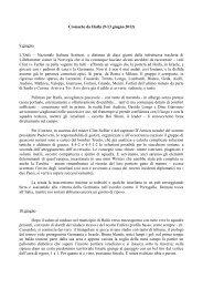 Cronache da Haifa - nazionale italiana scrittori