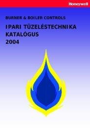 IPARI TÜZELÉSTECHNIKA KATALÓGUS 2004