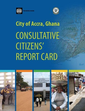 City of Accra, Ghana - the City of Accra