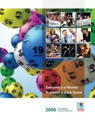 Everyone's a Winner Buaiteoir é Gach Duine 2006 ... - National Lottery