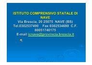 ISTITUTO COMPRENSIVO STATALE DI NAVE Via ... - CTRH Chiari