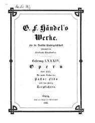 Handel: Il Pastor Fido 2