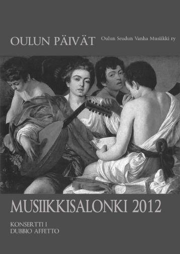 Konsertti I - OSVM