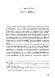 Pascoli e Petrarca
