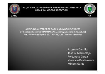 IRG/WP 10-30532 - IRG. International Research Group on Wood ...