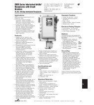 4P EBBR Series Interlocked Arktite ... - Cooper Industries