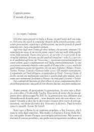 Capitolo primo Il mondo di prima - Einaudi