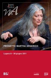 PROGETTO MARTHA ARGERICH - Rsi