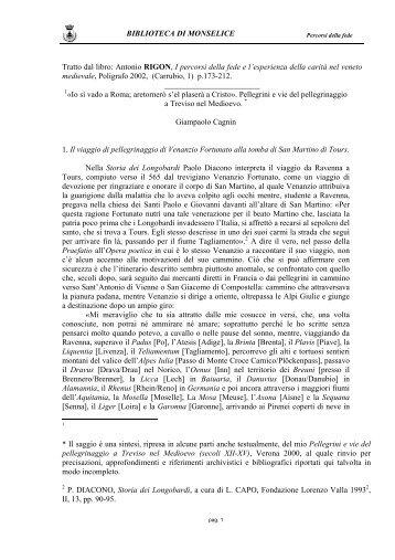 Giampaolo Cagnin - Provincia di Padova