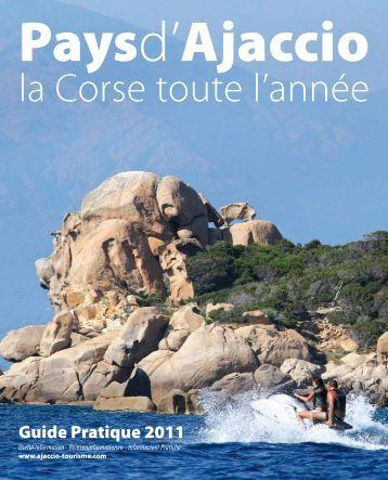 T l charger la brochure office de tourisme d 39 ajaccio - Office du tourisme d ajaccio ...