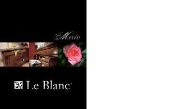 LE BLANC Mirto