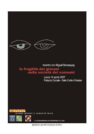 stampa quadernino Benasayag A4.pdf - Provincia di Lucca