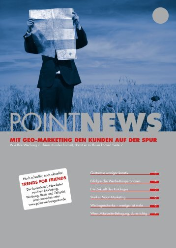 MIT GEO-MARKETING DEN KUNDEN AUF ... - Point Werbeagentur