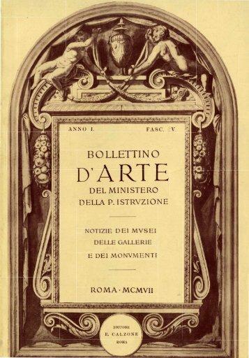 Bollettino d'Arte