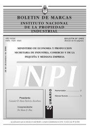 2485 - Instituto Nacional de la Propiedad Industrial