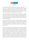 Relazione selle attività 2011/2012 - Fondazione ASM - Page 3