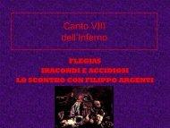 Inferno Canto 8 - Collegio San Giuseppe