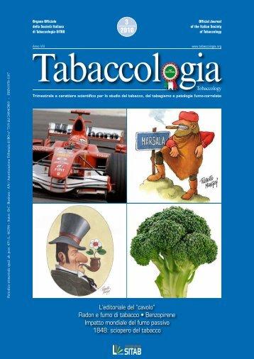 Scarica n. 3/2010 (full) - Società Italiana di Tabaccologia