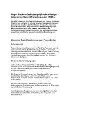 Allgemeine Geschäftsbedingungen (PDF) - Popken Design