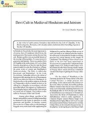 Devi Cult in medieval Hinduism & Jainism