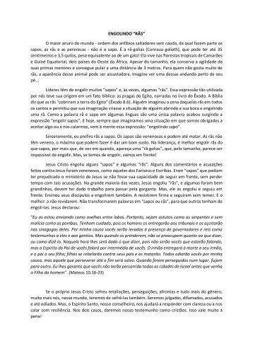 """ENGOLINDO """"RÃS"""" O maior anuro do mundo - ordem dos anfíbios ..."""