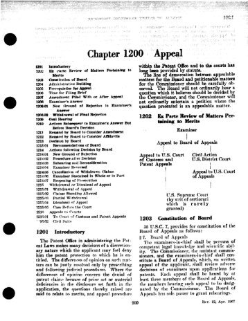 1200 - United States Patent and Trademark Office
