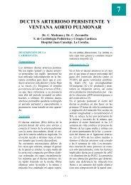 ductus arterioso persistente y ventana aorto pulmonar - Asociación ...