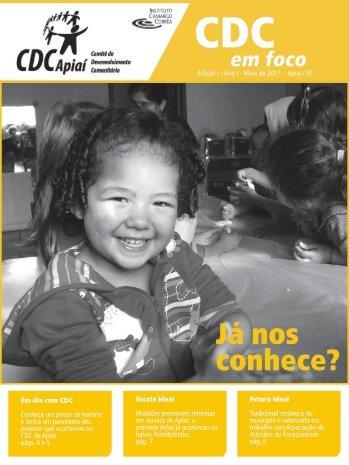 Boletim CDC em Foco - Apiaí (SP) - Edição 1 - Instituto Camargo ...