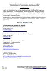 Travel Funding and Other Job Training Resources - Zender ...