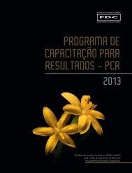 programa de capacitação para resultados - pcr - Portal FDC