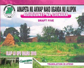 ainapeta nu akwap nako uganda nu alupok - Uganda Land Alliance