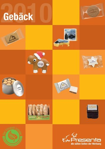 Lebkuchen mit Logo - Presenta Deutschland GmbH