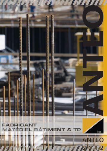 Téléchargez le catalogue ANTEO 2012